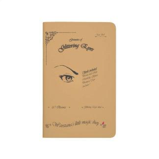 Grimoire der funkelnden Augen Taschennotizbuch