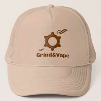 Grind&Vape rauchender Truckerkappe