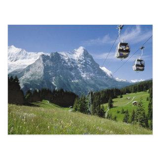 Grindelwald Drahtseilbahnen Postkarten