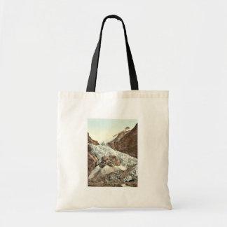 Grindelwald, Unterer Grindelwald Gletscher, Bernes Leinentaschen