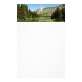 Grinnell Nebenfluss am Glacier Nationalpark Briefpapier