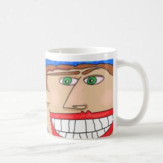 Grinsen… Beginnen Sie Ihr Tag mit einem Lächeln Kaffeetasse