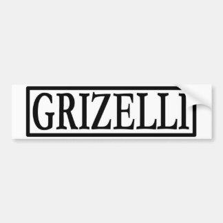 Griz Stoßdämpferbild Autoaufkleber
