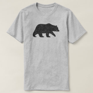 Grizzly-Bärn-Silhouette T-Shirt