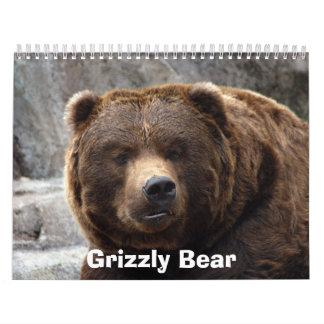 grizzly-bear-017, Grizzlybär Kalender