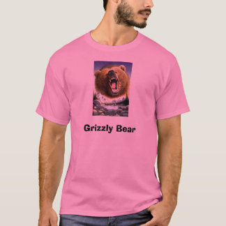 Grizzly-Bear-Poster-C10033289, Grizzlybär T-Shirt