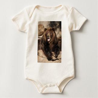 Grizzlybär-Eber Baby Strampler