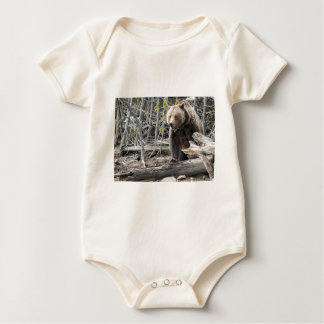 Grizzlybär in Yellowstone Nationalpark USA Baby Strampler