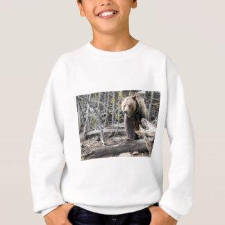 Grizzlybär in Yellowstone Nationalpark USA Sweatshirt