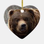 Grizzlybär-Weihnachtsverzierung Weihnachtsornament