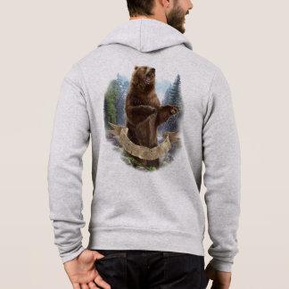 Grizzlybär-ZipHoodie Hoodie