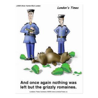 GrizzlyRomaines Postkarte