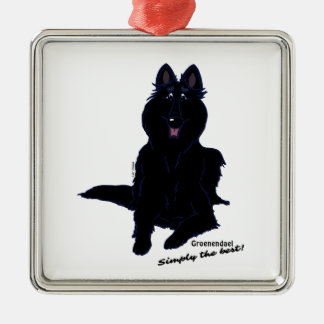 Groenendael – Simply the best! Silbernes Ornament
