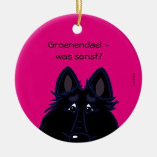 Groenendael - was sonst? keramik ornament