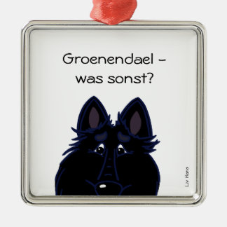 Groenendael - was sonst? silbernes ornament