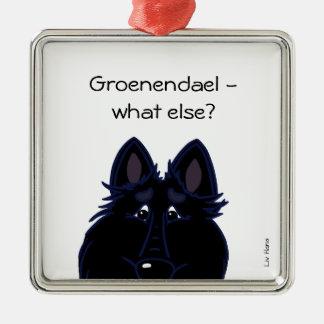 Groenendael - what else? silbernes ornament