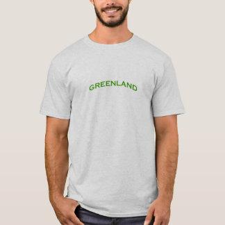 Grönland-Bogen-Text T-Shirt