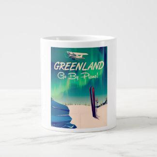 Grönland 'fahren mit dem Flugzeug! ' Jumbo-Tasse