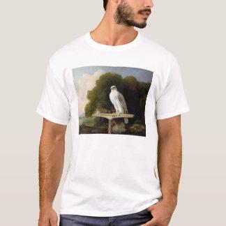 Grönland-Falke (grauer Falke), 1780 (Öl auf Platte T-Shirt