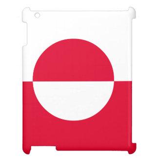 Grönland-Flagge iPad Hülle