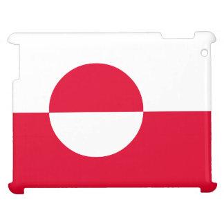 Grönland-Flagge iPad Schale