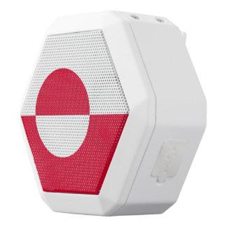 Grönland-Flagge Weiße Bluetooth Lautsprecher