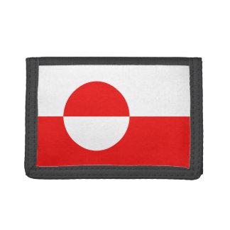 Grönland-Flaggen-Geldbörse