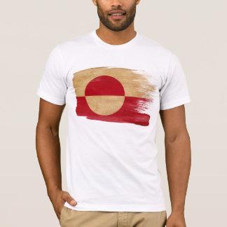 Grönland-Flaggen-T - Shirt