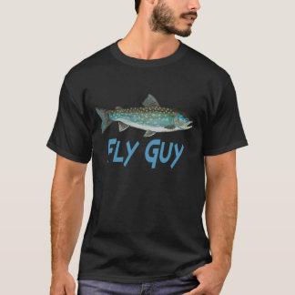 Grönland-Holzkohlen-Fischen T-Shirt