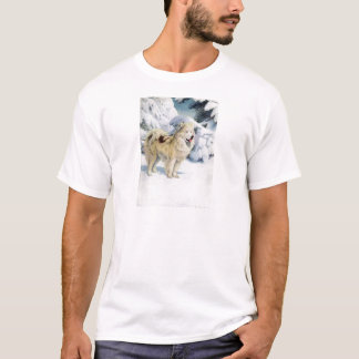 Grönland-Hund T-Shirt