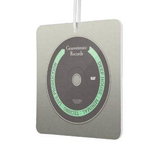 Groovetronic Plattenen-quadratisches Autolufterfrischer