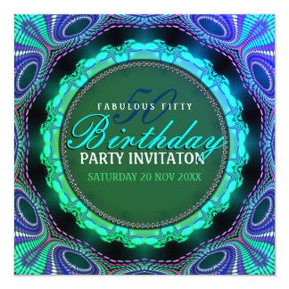 Groovy fabelhafte 50 Geburtstags-Party Einladungen