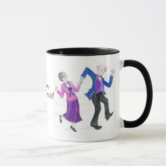 Groovy Großeltern-Kaffee-Tasse Tasse