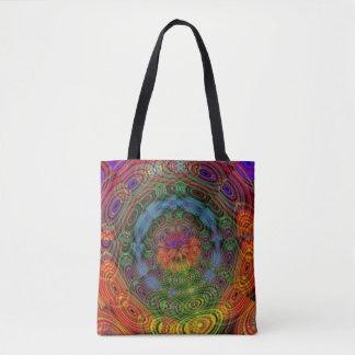 Groovy psychedelische Taschentasche Tasche
