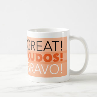 Groß! Ansehen! Bravo! Tasse, kundengerecht Kaffeetasse