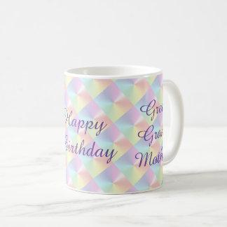 Groß - Großmutter Geburtstags-Schimmer-Tasse durch Tasse
