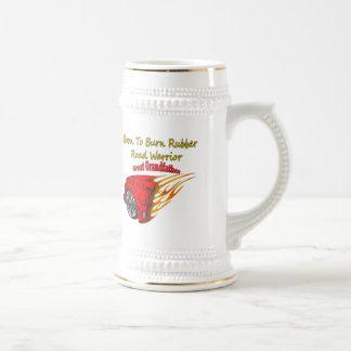 Groß - großväterlicher Brand-Gummi, der Geschenke Bierglas