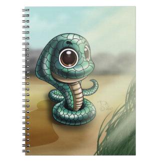 Groß-Mit Augen Kobra-Süsse-Foto-Notizbuch (80 Notizblock