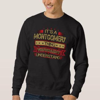Groß, MONTGOMERY-T-Shirt zu sein Sweatshirt