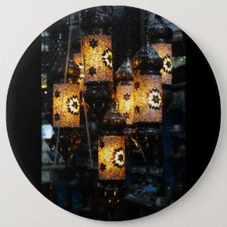 groß runder button 15,3 cm