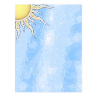 Großartig sind Sie mein Sonnenscheinleer Postkarte