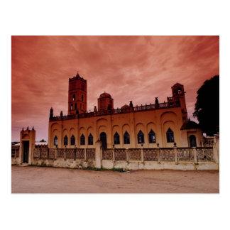 Großartige Moschee in der Stadt, Wa, obere Postkarte