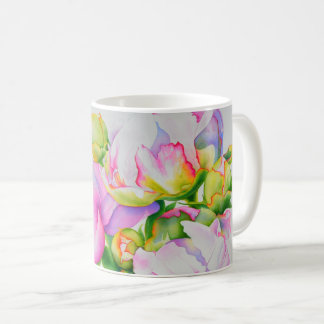 Großartige Pfingstrose Kaffeetasse