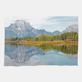 Großartige Teton Berge Küchentuch
