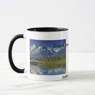 Großartige Teton Nationalpark-Reihe 4 Tasse