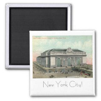 Großartige zentrale Datenstation, New York City Vi Quadratischer Magnet