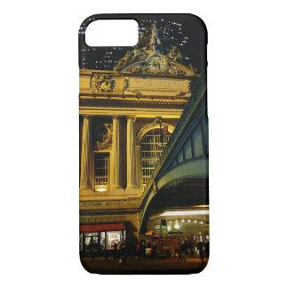 Großartige zentrale Station - Nacht - New York iPhone 8/7 Hülle