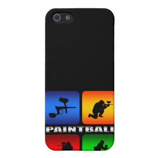 Großartiger Paintball iPhone 5 Etui