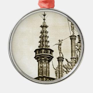 Großartiger Platz in Brüssel, Belgien Silbernes Ornament