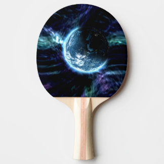 Großartiger Raum-sternenklarer Aurora-Nebelfleck Tischtennis Schläger